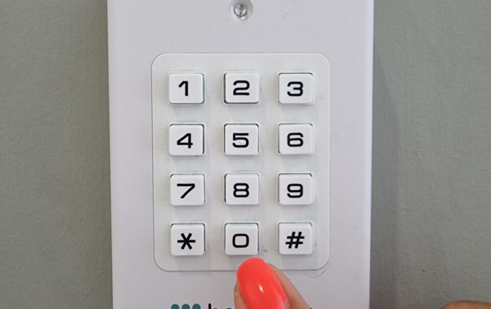 Códigos para entrada no quarto
